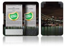 Amazon Kindle 3 - New York Brooklyn Bridge Night Scene Vinyl Skin Sticker Cover