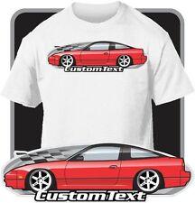 Custom Art T-Shirt for 1989-1993 S13 Nissan 240SX 240 sx SE Hatchback SR20DET