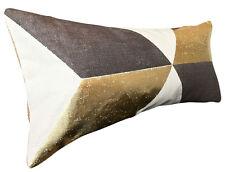 PIERRE FREY Kubus geometrico oro rafforzare Copricuscino
