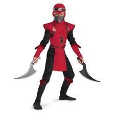 Red Viper Ninja Deluxe Costume Kids