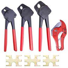 PEX Copper Crimp Ring Supply Crimping Plumbing Clamp Tool Gonogo Gauge Size Opt