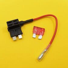 10 A Standard Fusible + disjoncteur ajouter Standard Porte-fusible Piggyback Lame Voiture