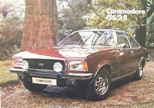 Opel Commodore GS 2.8 Saloon Coupe 1975-76 Original UK Market Sales Brochure