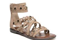 Sam Edelman Geren Camel Suede Leather Gladiator Sandal Women's sizes 5-11/ NEW!!