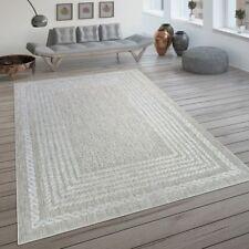 In- & Outdoor-Teppich, Flachgewebe Mit Skandi-Design Und Sisal-Optik In Beige