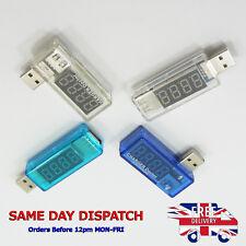 USB Current Voltage Charger Doctor Battery Voltmeter Ammeter Meter Phone Tablet