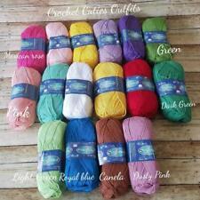 Omega Sinfonia Mercerized Cotton Sport Weight Yarn, Soft Cotton 1 Skein Choose