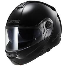 LS2 Strobe Solid Motorcycle Motorbike Helmet - Black