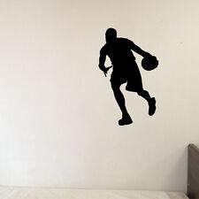 Basketball Sport Decal Sticker for Home Decor Kids Boy Room Car Window Wall Art
