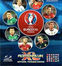 ADRENALYN UEFA EURO 2016 France cards Team Logo Top Joueur Goal Stopper Dynamo
