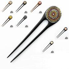 Nouveau en bois fait main Hair Stick PIN Grip Clip Accessoire Mix Design UK Vendeur Entièrement neuf sous emballage