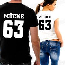 Mücke & Zecke  T-Shirt Sexy Partnershirt Fun Romance Love Hochzeit Geschenk Idee