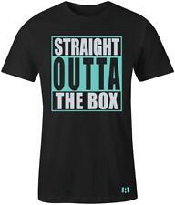 """Straight Outta the Box"" T-Shirt to Match ""Island Green"" Foams"