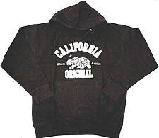 CALIFORNIA REPUBLIC Hoodie Sweatshirt Cali Bear Hoody Adult M-3XL Black New