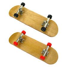 Popular Mini Wooden Fingerboard Finger Desk Skate Board Wood Toy Hot