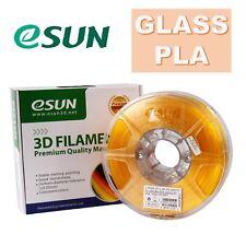 Genuine eSUN Glass PLA 3D Printing Filament 1.75mm 1kg Free Shipping Australia