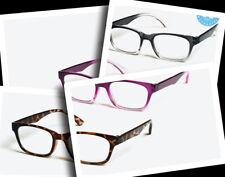 Un par de calidad con montura gafas de lectura
