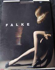 Falke Cigar Brown Repeat Four Petal Patterned Tights