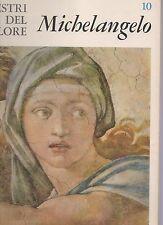 michelangelo - i maestri del colore - Fabbri editore -