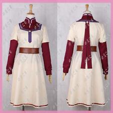 Akagami no Shirayukihime Shirayuki Chemist Dress Cosplay Costume Custom Made