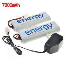 2x batteria ricaricabile da 7.2 V 7000mAh Ni-Mh Tamiya+caricabatterie