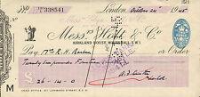 "Glynn. Mills & Co"" & CASINO'S RS Holt & Co Whitehall London ""OTTOBRE 24th 1945"