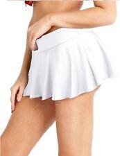 Women School Girl Pleated Tennis Micro Mini Skirt Ice Skate Shorts Bikini Dress