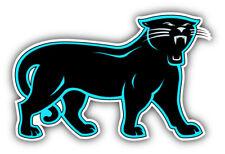 Carolina Panthers NFL Football Car Bumper Sticker Decal - 3'', 5'', 6'' or 8''