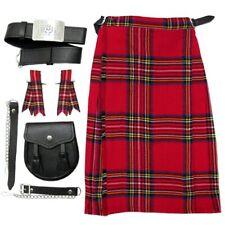 Royal Stewart Baby & Boys Kilt Kit/Outfit - Kilt, Sporran Belt & Flashes 0-14