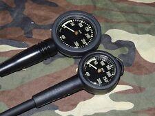 """Sunline Finimeter Pressure-Gauge """"New-Military"""" 52 od. 63 mm Metallgehäuse Kappe"""