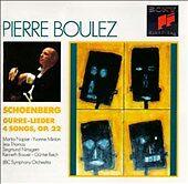Schoenberg - Gurre-Leider ~ 4 Songs, Op. 22 / Napier, Minton, Nimsgern, J. Thoma