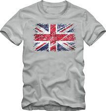 UNION JACK T-Shirt Vintage T-Shirt England Flagge Fahne  Gr.104 - XXL