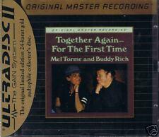 Torme, Mel & Buddy Rich Together. MFSL Gold CD Neu OVP