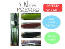 apriscatola soft touch UTILISSIMI utensile cucina apri barattolo 4 colori ottimo