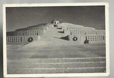1937 CARTOLINA CIMITERO MONUMENTALE DEL GRAPPA MONTE GRAPPA TU SEI LA MIA PATRIA