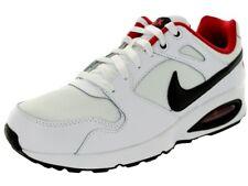 Nike Air Max Coliseum Running Shoe White/Black-University Red 555423 102