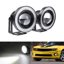 "2""/3""/3.5"" Universal Halo Angel Eye Xenon Projector LED Kit Fog light Headlight"
