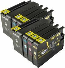 HP950XL - HP951XL x2 Full Sets (8) HP Compatible Printer Ink Cartridges