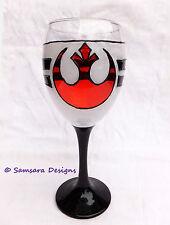 Star Wars Alliance Rebelle résistance verre vin cadeau geek