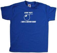 J'ai un T-shirt pour enfant dessin animé bombe