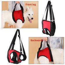 Dog Front & Rear Lift Harness Adjustable Soft Help Elderly Injured Disabled Pets