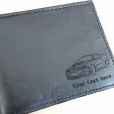 Nissan Skyline R34 Gt-R Inciso Portafoglio in pelle (Merchandise Regalo GTR )
