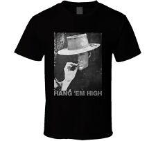 Hang em High Clint Eastwood spaghetti western cowboy movie t shirt