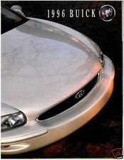 1996 Buick 120-page Sales Brochure - Riviera Park Avenue Roadmaster Regal