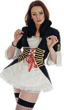 Ladies Pirate Jacket Dress 80's Pop Star New Romantic Steam Punk Costume New 8