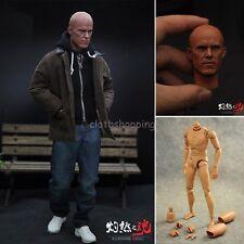 1/6 Scale Deadpool Casual Clothes Full Set Ryan B001 Body Figure W Head Sculpt