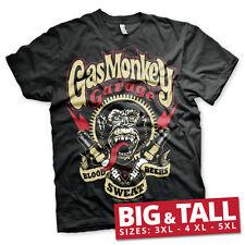 Licenza Ufficiale GMG-Candele Big & Tall 3XL, 4XL, 5XL T-shirt Uomo
