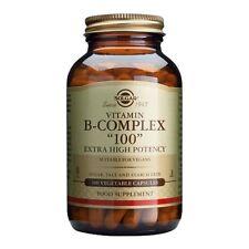 "Solgar Vitamin B-Complex ""100"" Extra High Potency 100 Vegetable Capsules"