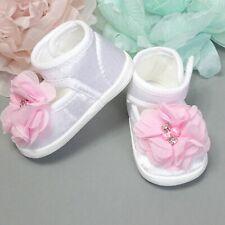 ♥ LOTTA♥  Taufschuhe Babyschuhe  weiss ,weiss-rosa