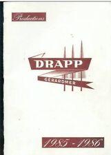 Catalogue DRAPP Gerardmer - linge de maison 1985